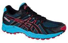 Asics Men's Gel Fuji Attack black onyx brick red